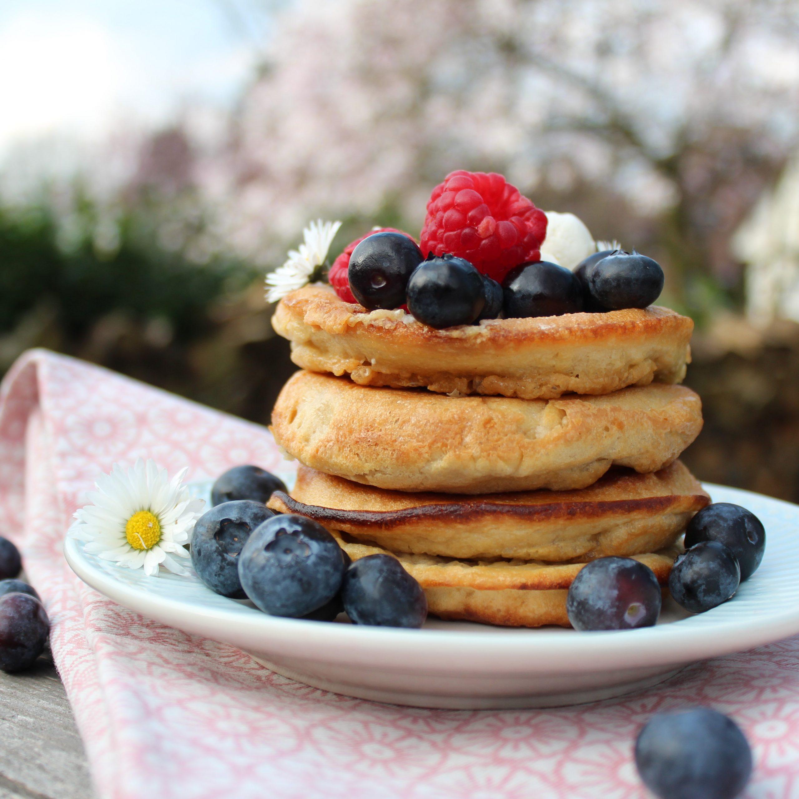 Instagram - Pancakes mit Beeren