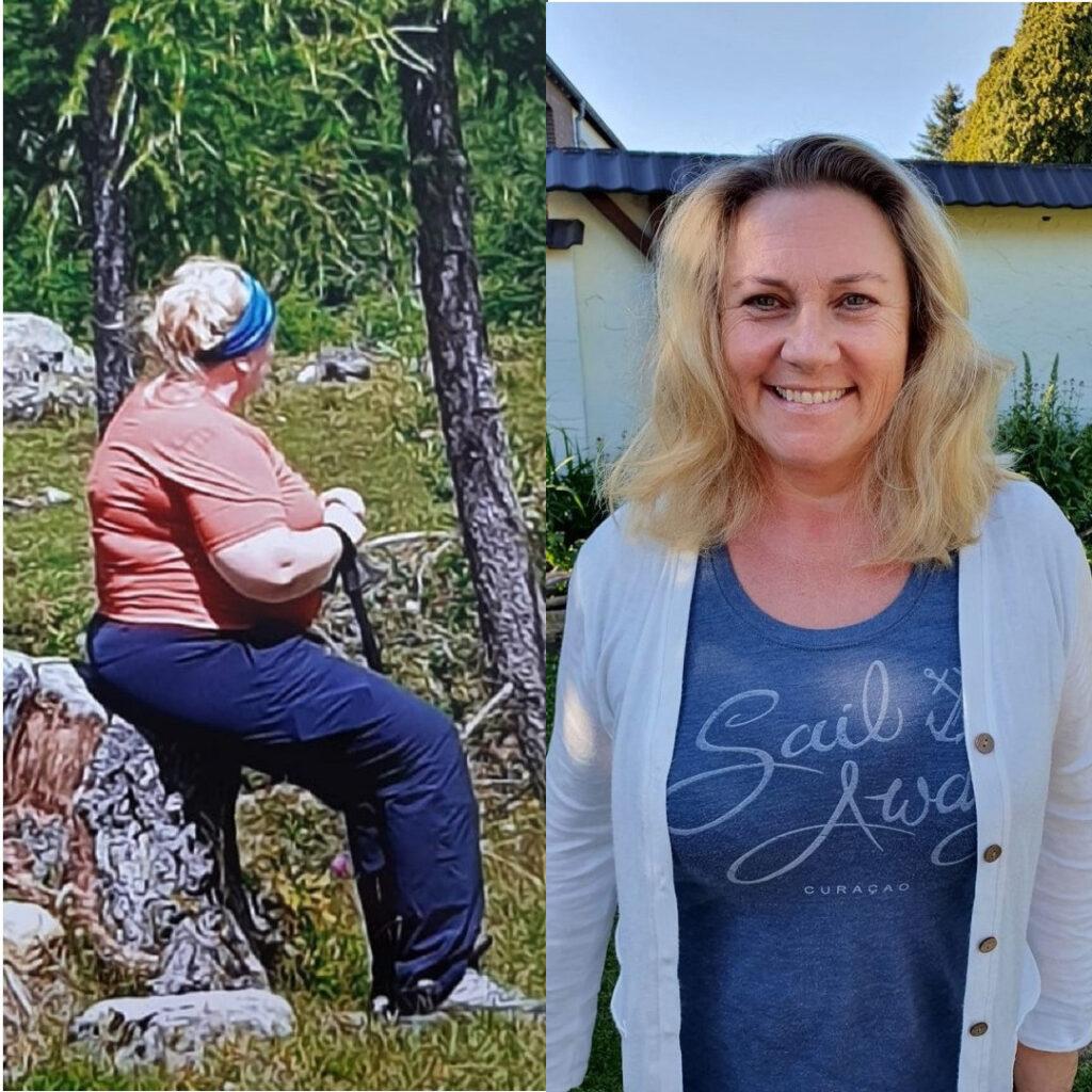 Margit über LCHF bei Quarks & Co - vorher nachher Bilder